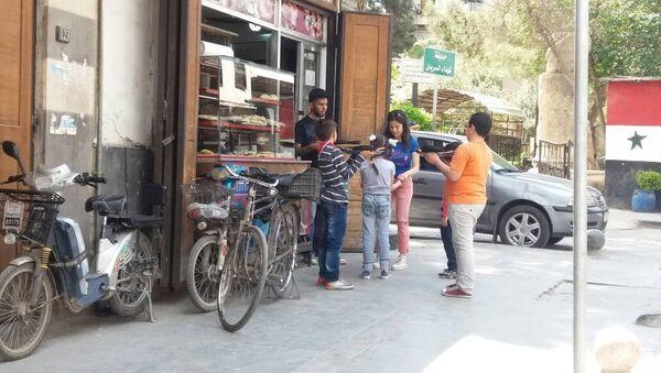 Người dân Damascus - Sputnik Việt Nam