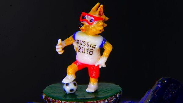 Chó sói Zabivaka trên hạt thuốc phiện - Sputnik Việt Nam