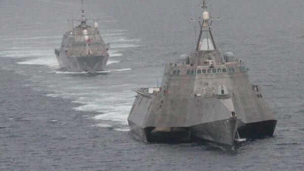 USS Freedom và USS Independence - Sputnik Việt Nam