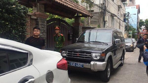 Cơ quan điều tra Bộ Công an tiến hành khám xét nhà ông Minh. - Sputnik Việt Nam