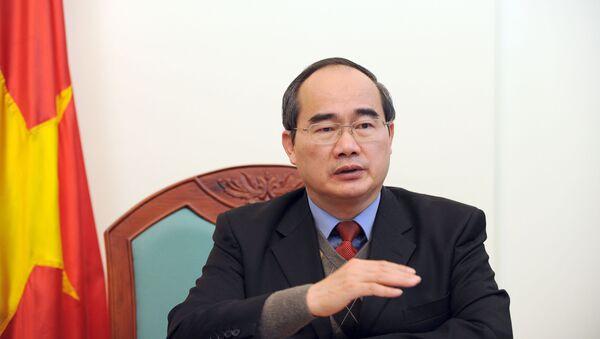 Bí thư Thành ủy TP.HCM Nguyễn Thiện Nhân - Sputnik Việt Nam