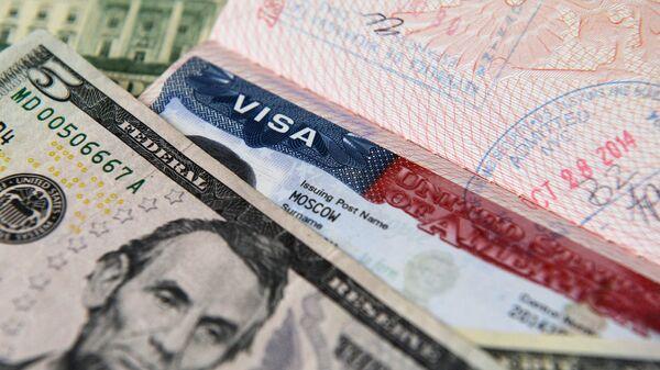 Thị thực Mỹ và tiền đô la - Sputnik Việt Nam
