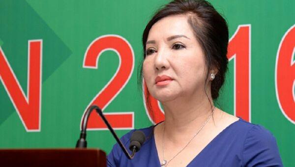 Chủ tịch Quốc Cường Gia Lai bà Nguyễn Thị Như Loan - Sputnik Việt Nam