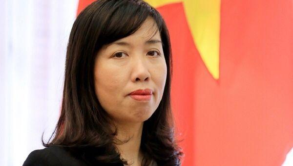 Người Phát ngôn Bộ Ngoại giao Việt Nam Lê Thị Thu Hằng - Sputnik Việt Nam