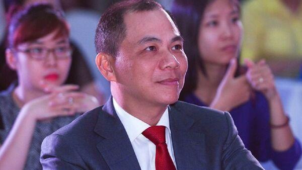 Tỷ phú Phạm Nhật Vượng. - Sputnik Việt Nam
