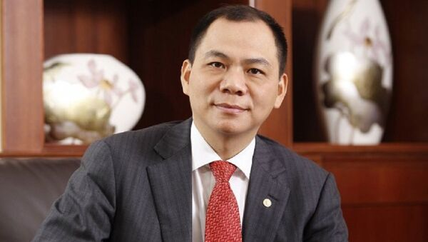 Tỷ phú Phạm Nhật Vượng - Chủ tịch HĐQT Vingroup  - Sputnik Việt Nam