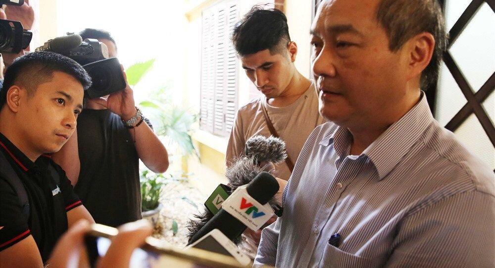 Tổng cục trưởng Tổng cục TDTT Vương Bích Thắng.