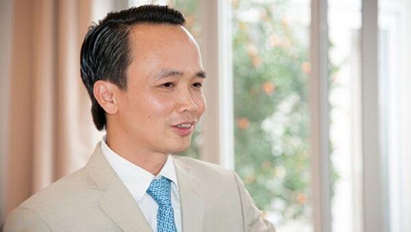 Chủ tịch Tập đoàn FLC Trịnh Văn Quyết. - Sputnik Việt Nam