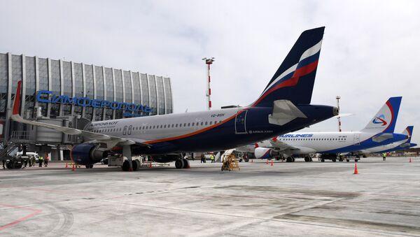 Открытие нового терминала аэровокзального комплекса в Симферополе - Sputnik Việt Nam