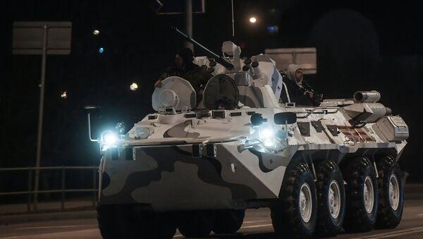Tập kết về Matxcơva các thiết bị quân sự sắp tham gia diễu binh Chiến thắng trên Quảng trường Đỏ - Sputnik Việt Nam