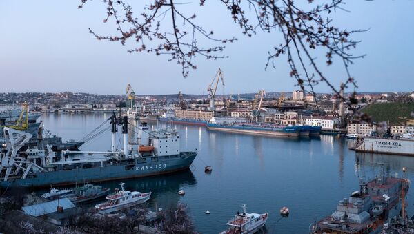 Порт в Севастополе, Крым - Sputnik Việt Nam