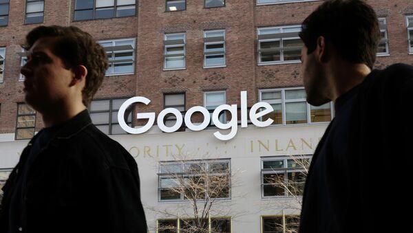 Google, New York - Sputnik Việt Nam