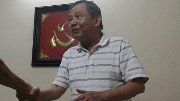 Nhà văn Bùi Việt Sỹ - Sputnik Việt Nam