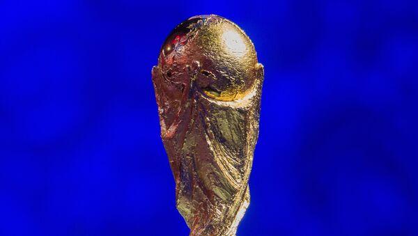 Cup FIFA tại lễ bốc thăm sơ bộ Giải bóng đá thế giới 2018 - Sputnik Việt Nam