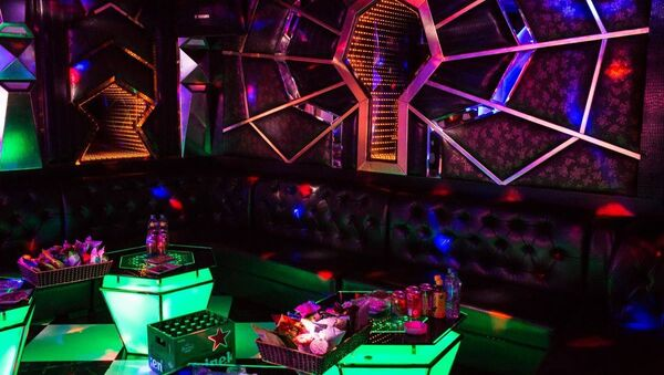 Một phòng hát karaoke. - Sputnik Việt Nam