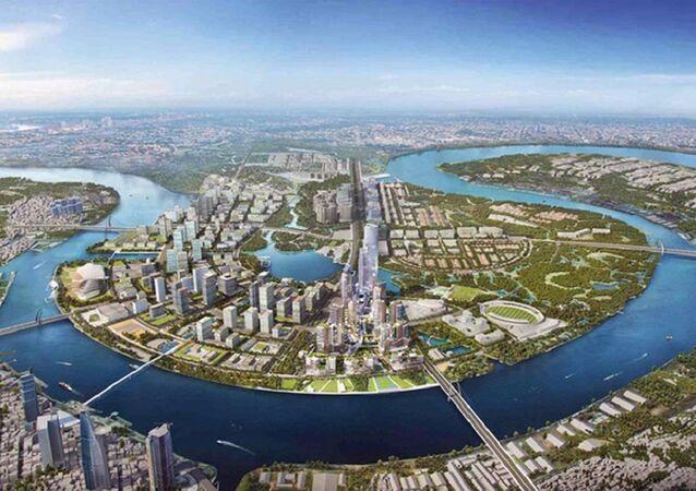 Khu đô thị mới Thủ Thiêm đã bị thất lạc bản đồ quy hoạch.