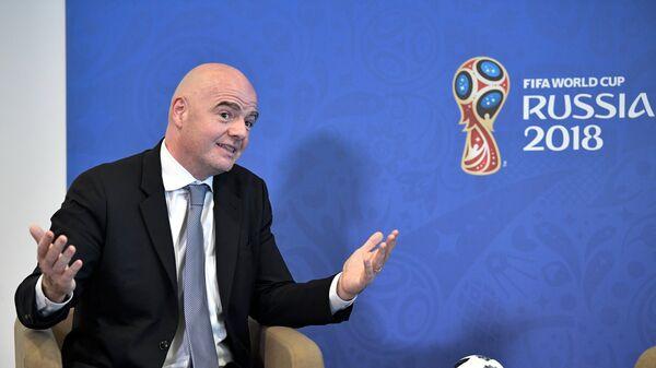 Chủ tịch FIFA Gianni Infantino - Sputnik Việt Nam