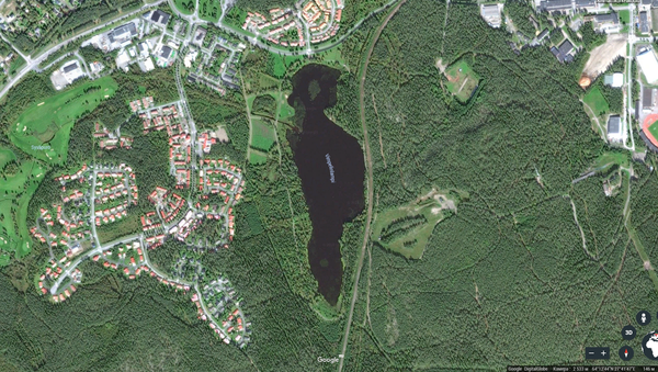 Giống nhau như đúc : tìm thấy hồ nước -  bản sao của Trump ở Phần Lan - Sputnik Việt Nam