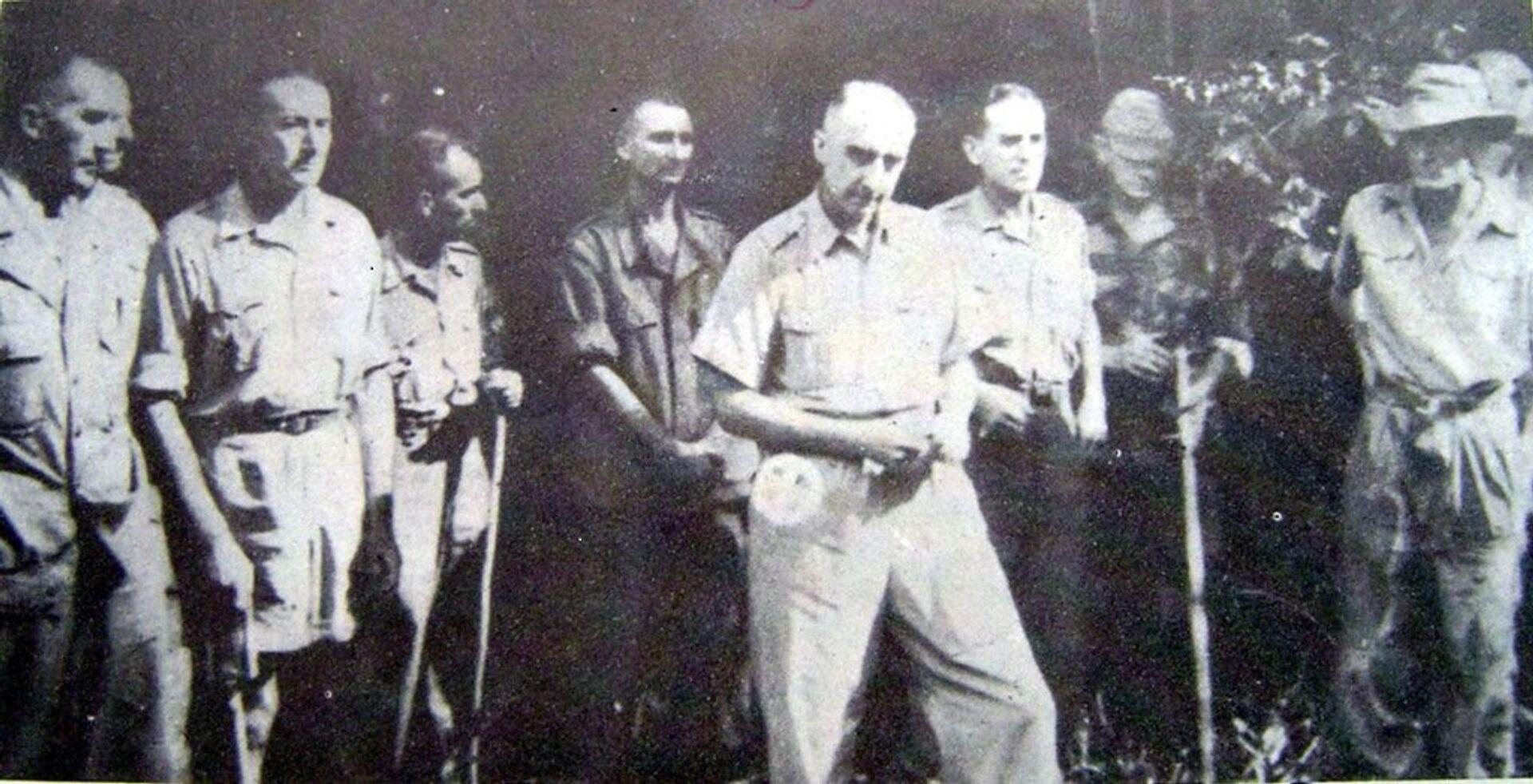 Chiến thắng Điện Biên Phủ: Tinh thần nồng nàn yêu nước giúp quân dân Việt Nam đánh bại Pháp như nào? - Sputnik Việt Nam, 1920, 07.05.2021
