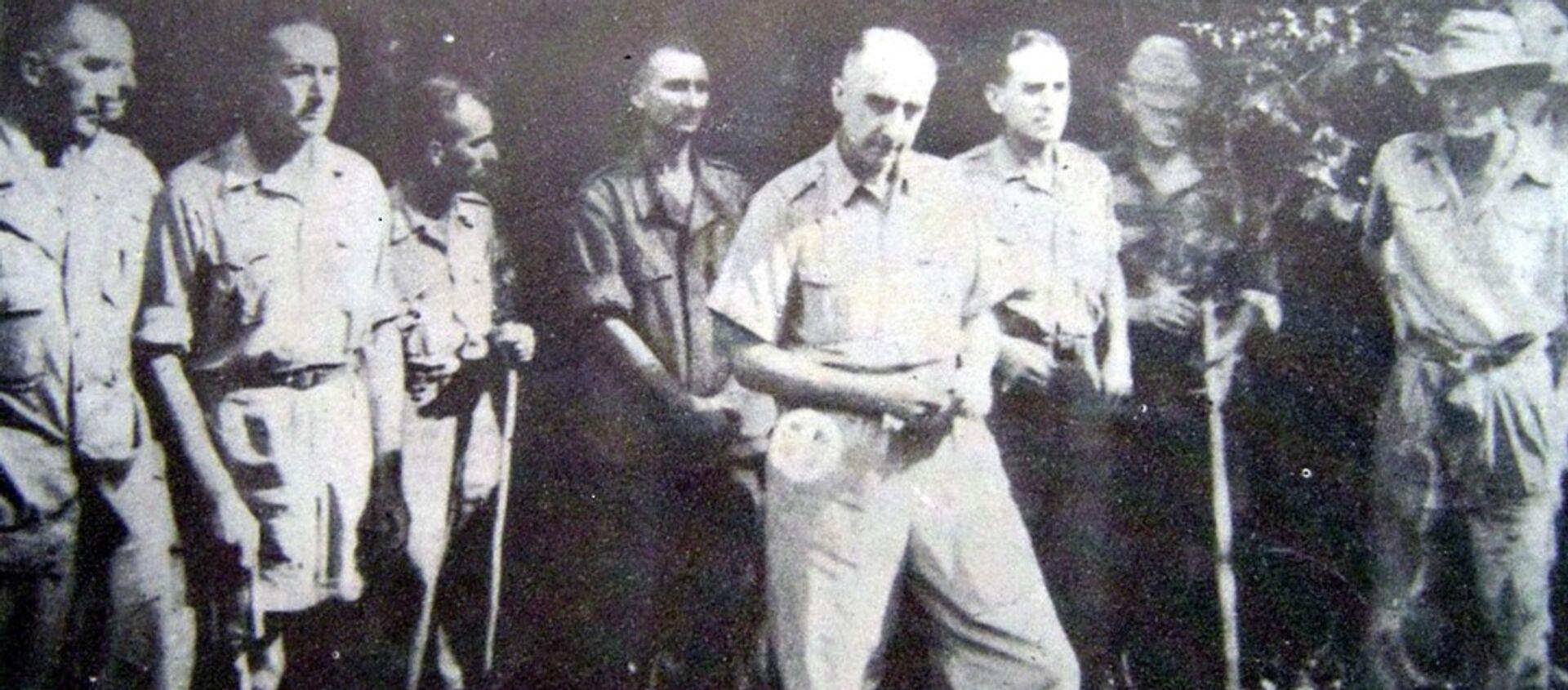 Tướng De Castries bị bắt tại Điện Biên Phủ. - Sputnik Việt Nam, 1920, 07.05.2021