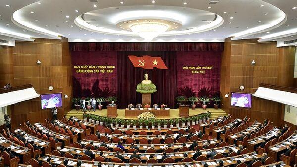 Quang cảnh Hội nghị Trung ương 7 - Sputnik Việt Nam