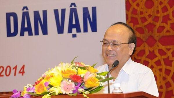 Ông Nguyễn Thế Trung, Uỷ viên Hội đồng Lý luận Trung ương. - Sputnik Việt Nam
