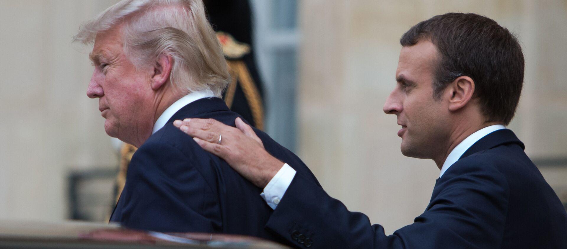 Emmanuel Macron và Donald Trump - Sputnik Việt Nam, 1920, 20.10.2020