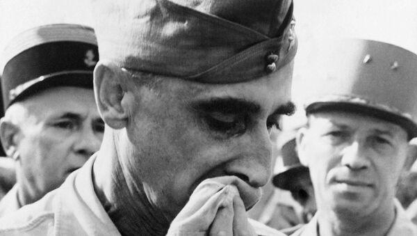 Tướng De Castries bị bắt tại Điện Biên Phủ. - Sputnik Việt Nam
