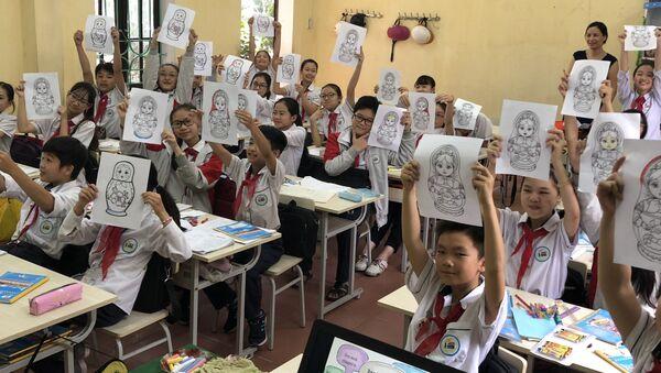 Giờ học tiếng Nga - Sputnik Việt Nam