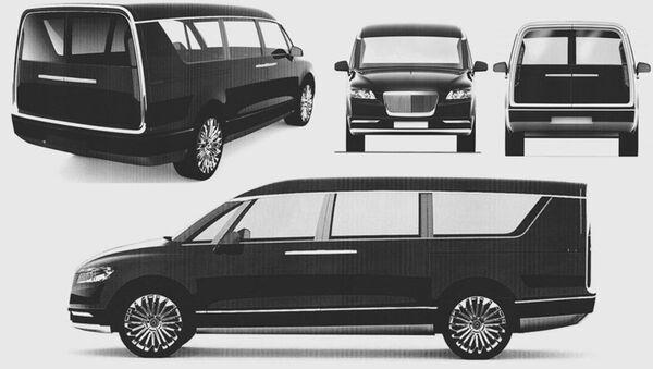 "xe minivan thuộc dự án ""Kortezh"" - Sputnik Việt Nam"
