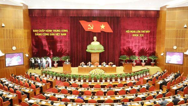 Hội nghị lần thứ 7 Ban Chấp hành Trung ương Đảng Cộng sản Việt Nam khóa XII - Sputnik Việt Nam