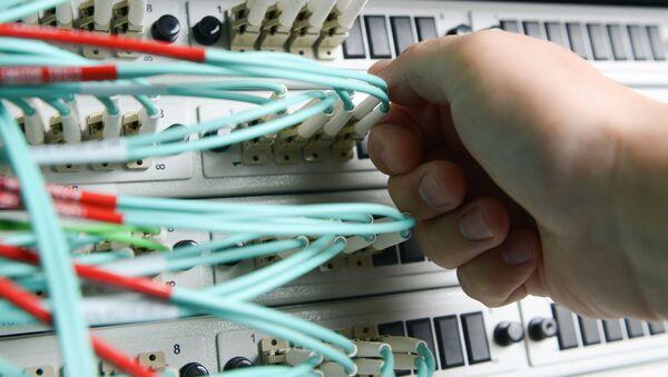 Сетевое оборудование в серверной - Sputnik Việt Nam