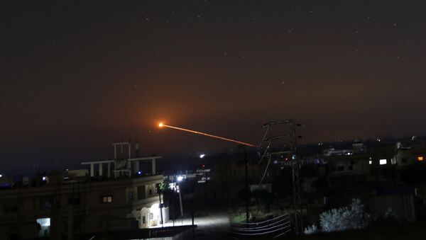 Сuộc không kích đêm vào lãnh thổ Syria - Sputnik Việt Nam