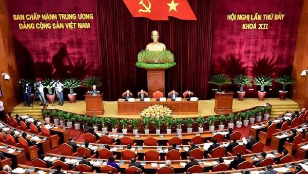Hội nghị lần thứ 7 Ban Chấp hành Trung ương Đảng khóa XII đang diễn ra tại Hà Nội - Sputnik Việt Nam