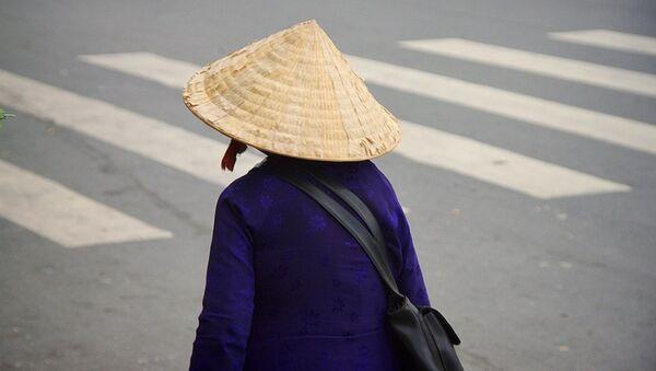 Một cô gái ở tp. Hồ Chí Minh - Sputnik Việt Nam