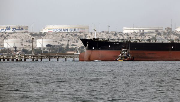 tàu chở dầu của Iran  - Sputnik Việt Nam