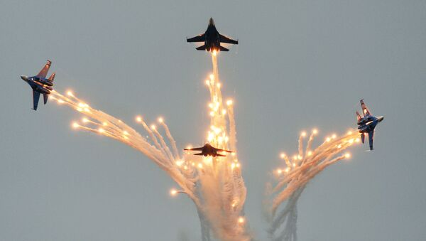 Máy bay chiến đấu Su-27 - Sputnik Việt Nam