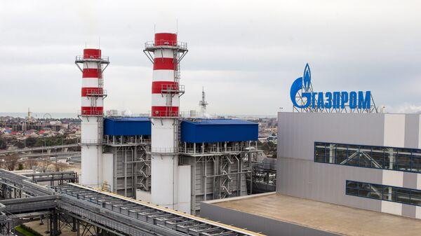 nhà máy điện khí Gazprom - Sputnik Việt Nam