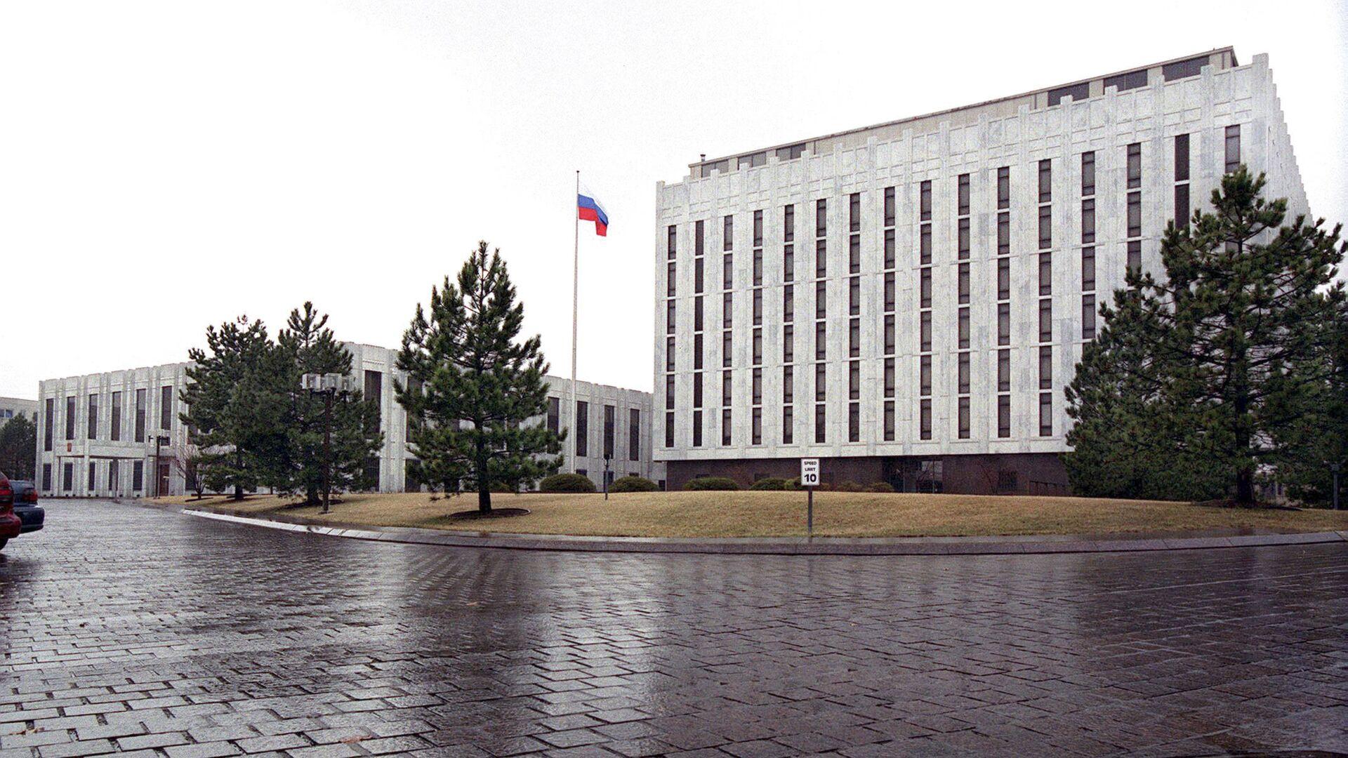 Здание Российского посольства в Вашингтоне - Sputnik Việt Nam, 1920, 17.03.2021