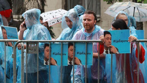 Tại Moskva diễn ra sự kiện ủng hộ các nhà báo RIA Novosti - Sputnik Việt Nam
