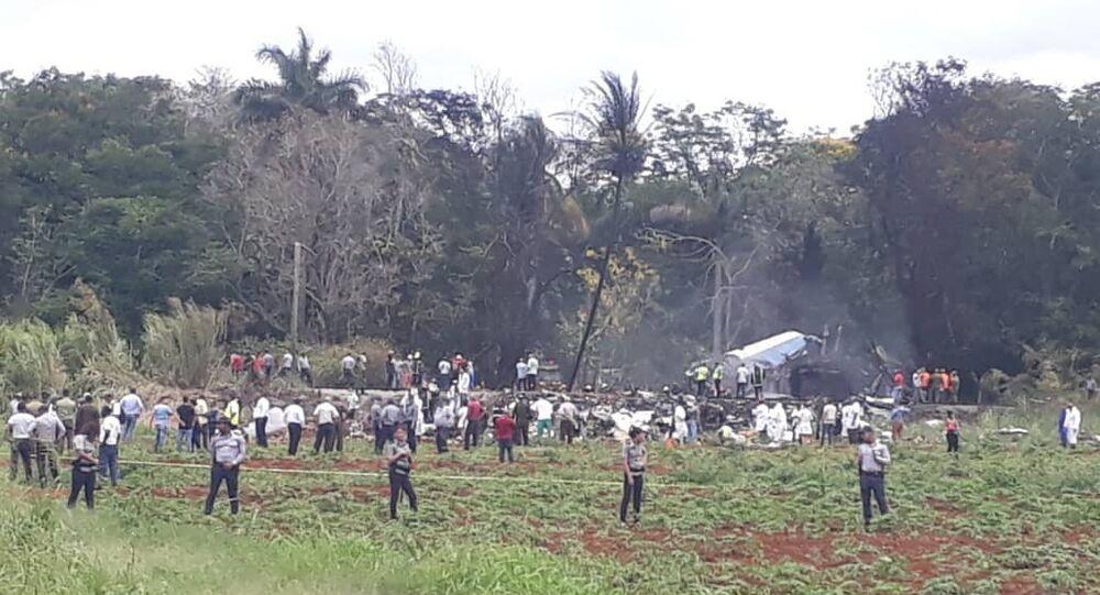 Máy bay chở hàng trăm hành khách bị rơi ở Cuba