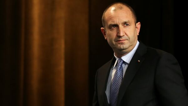 Tổng thống Bulgaria Rumen Radev - Sputnik Việt Nam