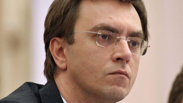 Bộ trưởng Bộ cơ sở hạ tầng Ukraina Vladimir Omelyan - Sputnik Việt Nam