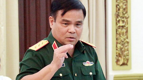 Thứ trưởng Quốc phòng, Thượng tướng Lê Chiêm. - Sputnik Việt Nam