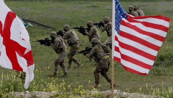 Quân nhân Hoa Kỳ tại Gruzia - Sputnik Việt Nam