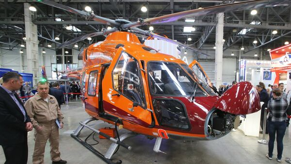 Máy bay trực thăng Ansat - Sputnik Việt Nam