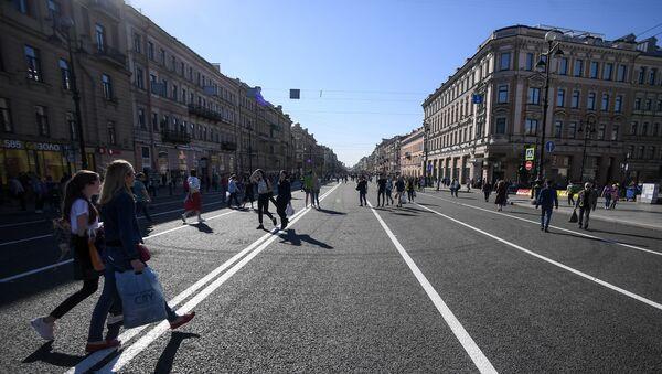 Đại lộ Nevsky dành cho khách bộ hành ở St. Petersburg - Sputnik Việt Nam