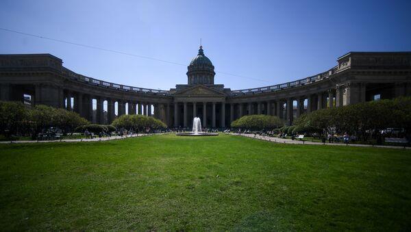 Nhà thờ Kazan ở St. Petersburg. - Sputnik Việt Nam