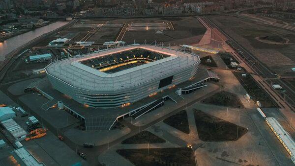 Sân vận động Đấu trường Kaliningrad, nơi diễn ra các trận bóng đá của World Cup 2018 - Sputnik Việt Nam