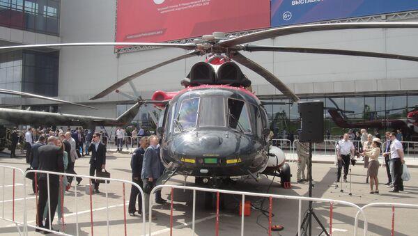 Triển lãm HeliRussia 2018 biểu dương sức mạnh ngành công nghiệp trực thăng ở Nga - Sputnik Việt Nam